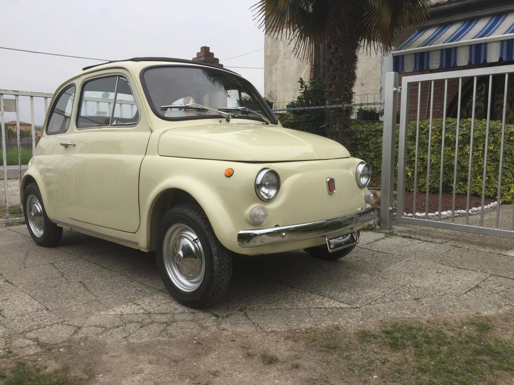 Fiat 500 epoca vendita auto storiche fiat 500l epoca for Cianografie d epoca in vendita