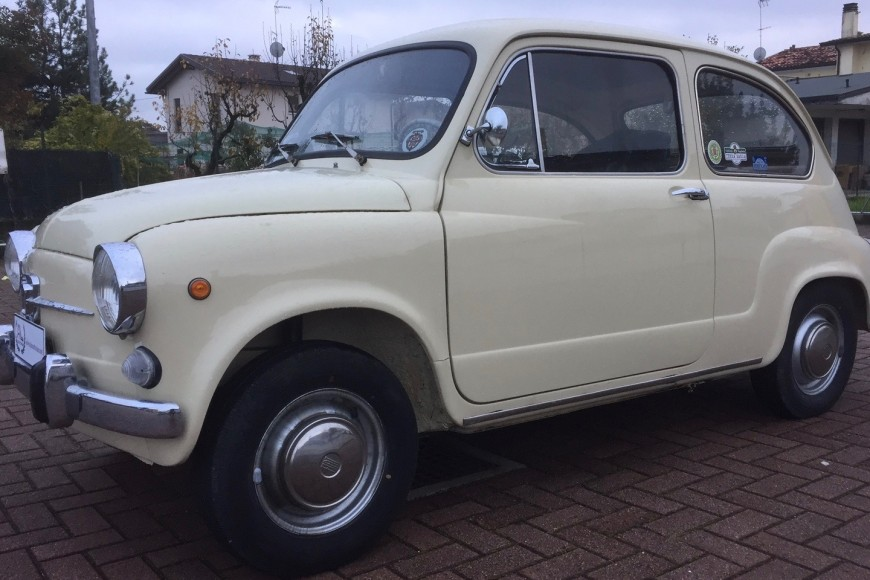 Fiat 600 D – 1969 ^^ Iscritta ASI ^^