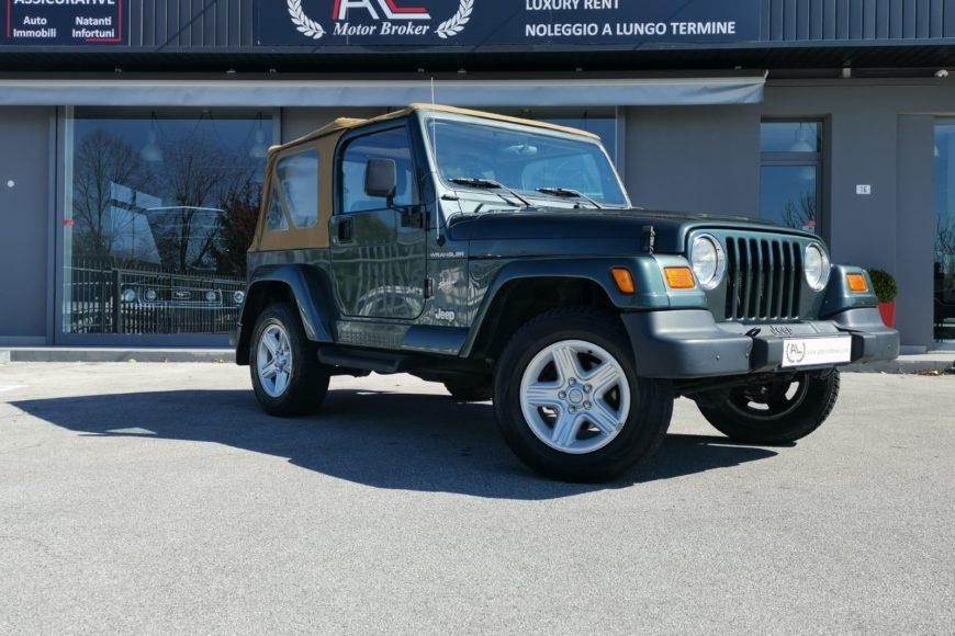 2002 Jeep Wrangler 4.0 Sahara MT