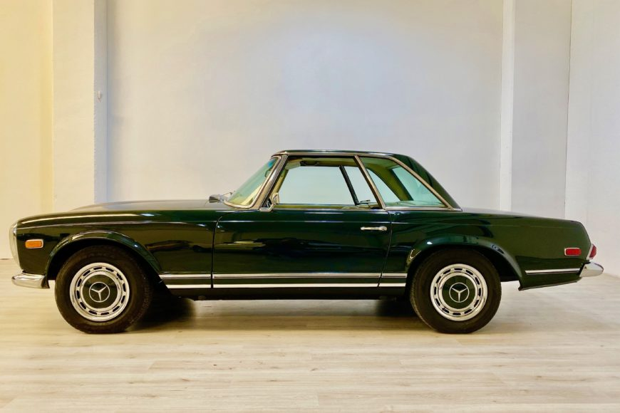 1968 Mercedes 280SL Pagoda ^ Hard Top ^ Verde 291H ^^ VENDUTA ^^