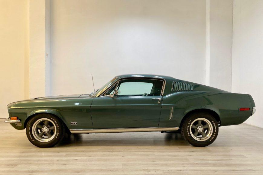 1968 Ford Mustang Fastback 390 V8 MT ^ Bullitt Tribute ^ Targa ITA