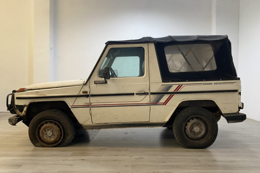 1984 Mercedes Classe G 240 GD Cabrio ^ Barn find ^ Book service ^^ VENDUTA ^^