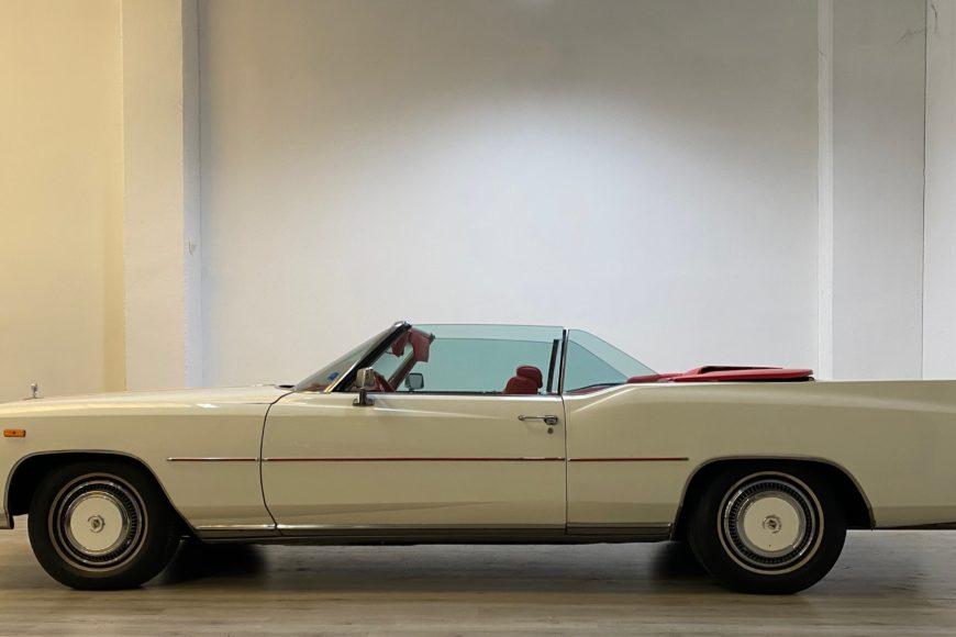 1975 Cadillac Eldorado Fleetwood Convertible 8.2 V8